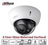Dahua 4MP IP Dome Camera HDBW4431R-ZS 2.7mm~12mm Motorized Zoom Network Camera PoE H.265 PoE IP67 ONVIF Camera International Version