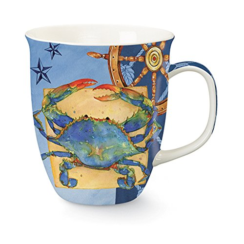 Blue Crab Coffee or Tea Ceramic Mug - Crab Mug