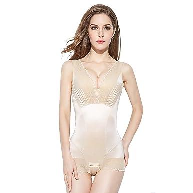 FourJi Femme Body Gainant Amincissant Invisible Lingerie Sculptante  Amincissant Minceur Gaine Ventre Plat Body Shaper  Amazon.fr  Vêtements et  accessoires 78a6d59db17