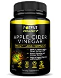 100% Organic Apple Cider Vinegar - 90 Capsules for Healthy Diet & Weight Loss- Pure, Raw, Vegan and Non-GMO - Supports Body Detox - Made in USA - Add to Garcinia Cambogia