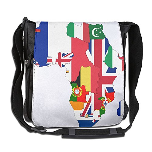 Flag Map Of Colonial Africa 1939 Convenient Unisex Shoulder Bag by HIFUN