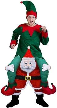 I LOVE FANCY DRESS LTD Disfraz A Hombros DE Papa Noel con ...