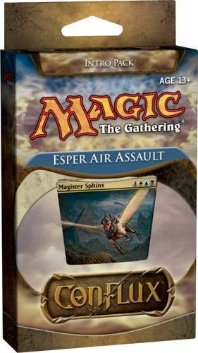 Magic The Gathering Conflux Esper Air Assault Intro Pack [Sealed Deck]