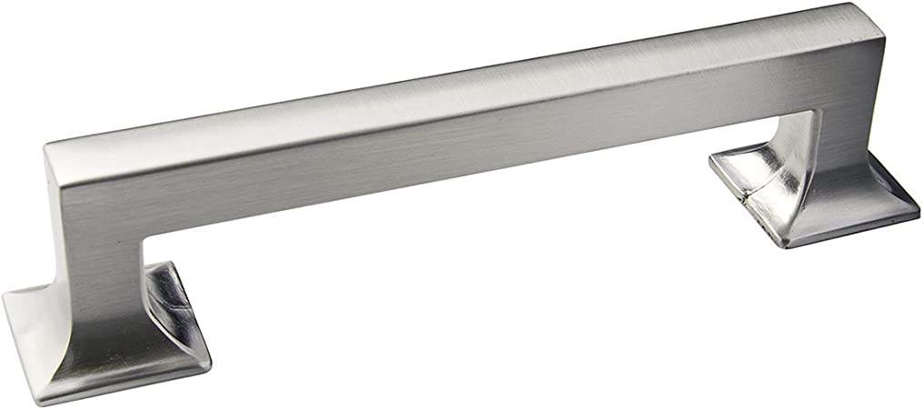 Hickory Hardware P3012 Ss Studio Collection Pull 5 1 16 Inch 128mm Center To Center Stainless Steel Cabinet And Furniture Pulls