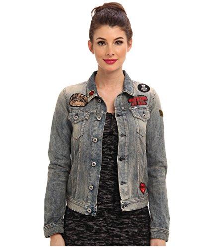 Diesel Womens De-Jaque-Np Jacket (XXS (US 0), (Diesel Denim Jackets)