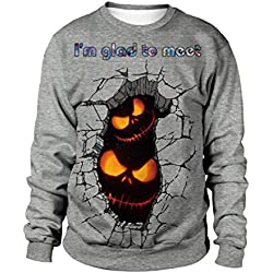 Nice To Meet You Halloween Pumpkin Sweater