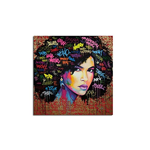 PrettyW Beauty Picture Colorful Oil Painting Canvas Unframed Huge Wall Art Home Decor (Medium)