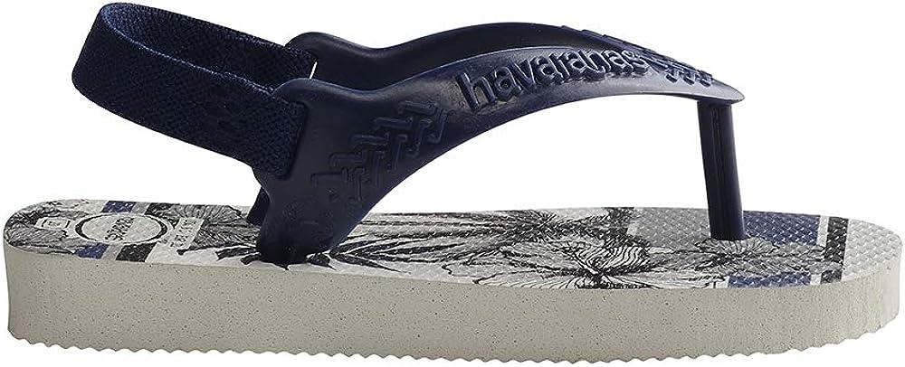 Tongues Mixte b/éb/é Havaianas Hav Baby Chic White//Navy Blue