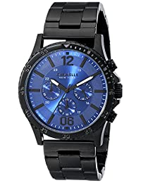 Bulova Caravelle New York Men's 45A106 Analog Display Japanese Quartz Black Watch