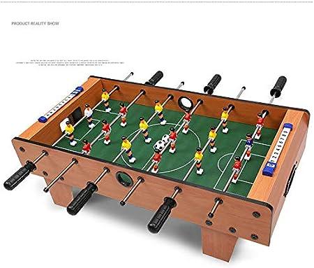 RUIXFFT Futbolín Juego de fútbol Calidad de Escritorio Tablero Deportivo de Madera Futbolín Clásico Fútbol Ligero y portátil, A: Amazon.es: Deportes y aire libre