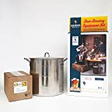 Brewer's Best Deluxe Equipment Kit (w/ Better Bottle) with 30 Qt Stainless Steel Brew Kettle and Chicago Brew Werks 5 Gallon Ingredient Kit: Oats Made Me Do It
