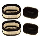air filter ms460 - HIPA (Pack of 2) Air Filter for STIHL MS440 MS460 MS640 MS650 MS660 MS880 044 046 064 066 084 088 Chainsaw