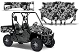2004-2013 Yamaha Rhino 450/660/700 AMRRACING SXS Graphics Decal Kit:Camo Plate-Black