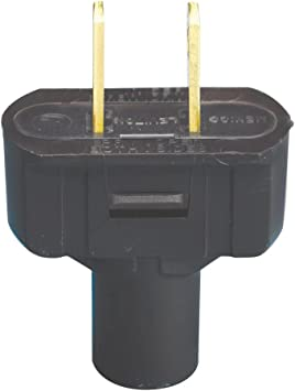 Grounding Plug Leviton 48648 15 Amp QTY 8 125 Volt Black