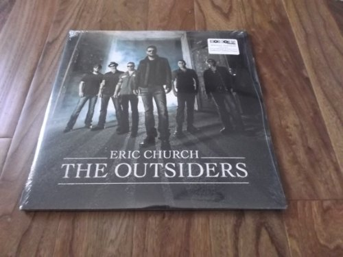 """Music : Eric Church The Outsiders 12"""" Vinyl LP + Poster Record Store Day RSD 2014"""