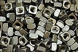 (50) Unplated 3/4-10 Square Nuts - Coarse Thread - Plain Steel