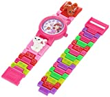 LEGO Kids' 9005220 Friends Olivia Plastic Watch with Link Bracelet