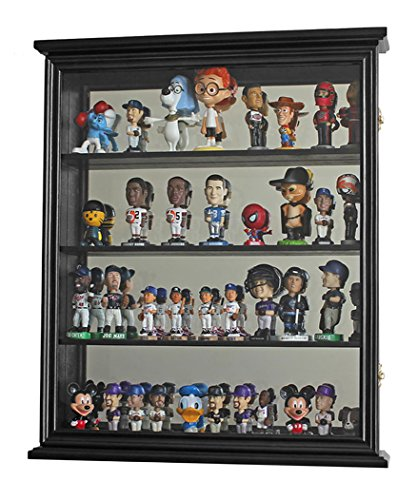Metal Curio Cabinets (Wall Curio Cabinet / Wall Shadow Box Display Case for Figurines or Mini 4