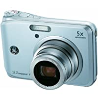 GE A1250-SL 12MP Digital Camera with 5X Optical Zoom and 2.5 Inch LCD with Auto Brightness - Silver Advantages Review Image