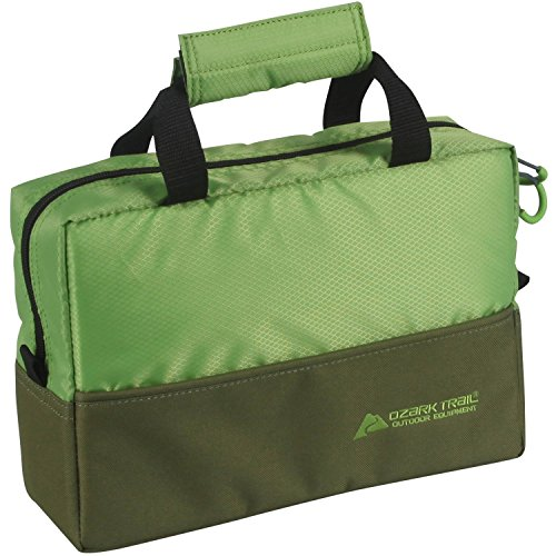 Ozark Trail Fishing Tote With Trays, Green