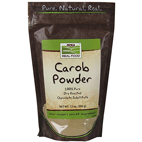 Oz 12 Carob Powder (Carob Powder, Dry Roasted, 12 oz, NOW Foods)