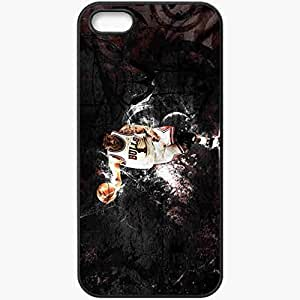 Personalized iPhone 5 5S Cell phone Case/Cover Skin 14719 Derrick Rose by dtrouble Black
