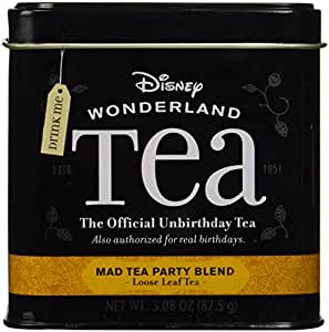Disney Parks Wonderland Official Unbirthday Mad Tea Party Blend Loose Leaf Tea