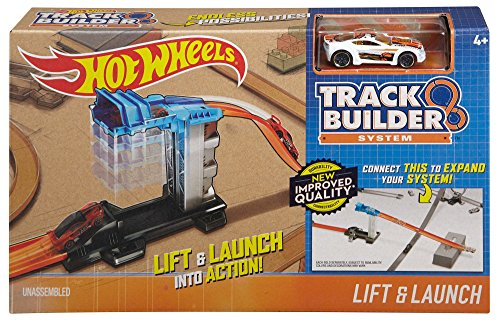 (Hot Wheels Workshop Track Builder Lift & Launch Track Extension)