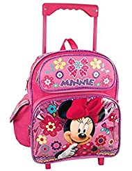 Disney Minnie Mouse 12 Toddler Mini Rolling Backpack
