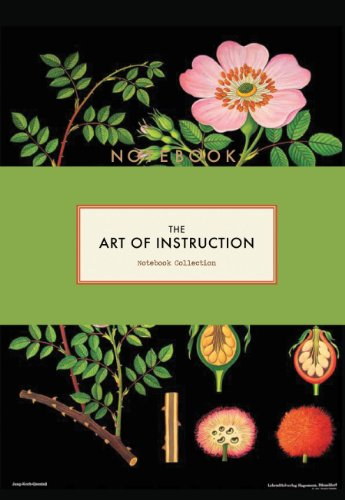 The Art of Instruction Notebook Collection from Chronicle Books