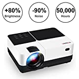 Best iPhone Projectors - 2800 Lumens Portable Projector, GEARGO Mini Movie Projector Review