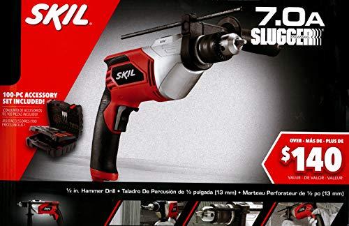 SKIL 1/2-inch Corded Hammer Drill w/ 100-Piece