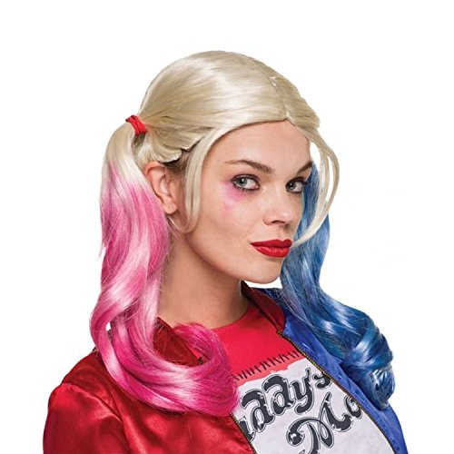 Rubie's Costume Co. Women's Suicide Squad Harley Quinn Value Wig, As Shown, One Size