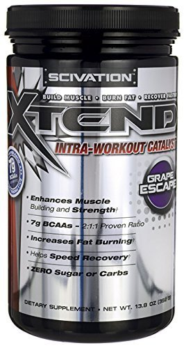 Scivation Xtend Intra-Workout Catalyst - Grape Escape 13.8 oz (392 grams) Pwdr by Primaforce