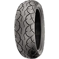 Versatile tread pattern available in most late model scooter sizes.Pair with SR567 front (sold separately) for a matched set.4-ply rated nylon carcass.Tubeless, DOT approved.Tire Specifications:Load / speed index: 65H.Recommended rim (inches)...