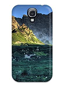 Awesome ZZmFljF443TeGMQ MichelleNayleenCrawford Defender Tpu Hard Case Cover For Galaxy S4- Mountain