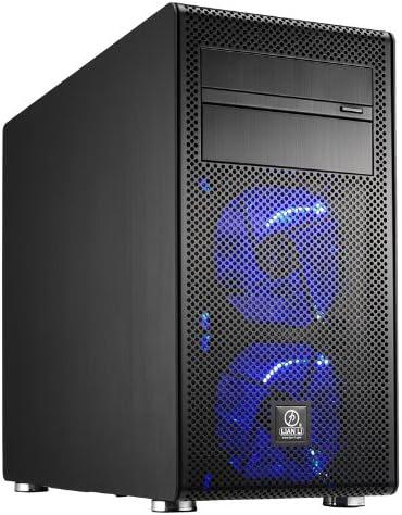 Lian Li PC-V600FX Carcasa de Ordenador - Caja de Ordenador (Mini-Tower, PC, Aluminio, 2X 120 mm, 1x 140 mm, 63, 5, 88, 9 mm (2.5, 3.5