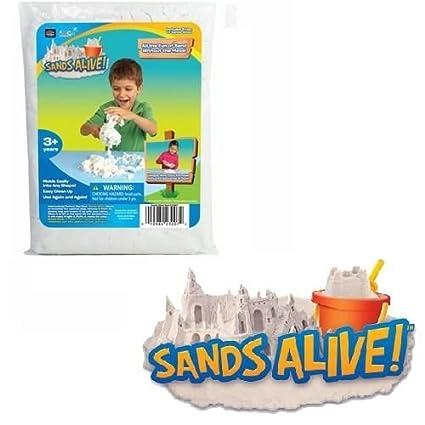 Play Visions Sands Alive! 5-Pound Bulk Bag No Mess Sand