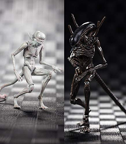 JHart Alien Action Figure,Movie Character Replica Model,New Alien Statue, Souvenirs, Collectibles, Gifts for Fans,Set