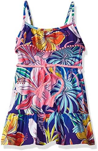 The Children's Place Baby Girls' Her Li'l Tropical Print Dress