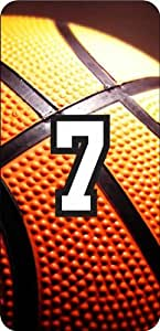iphone covers Basketball Sports Fan Player Number 06 Clear Rubber Decorative Iphone 6 4.7 Case