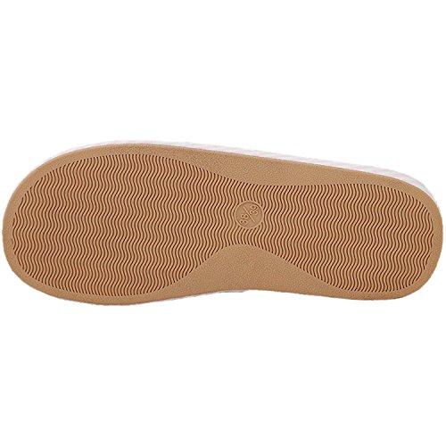Pantofole Da Casa Di Lino Traspirante Morbido Bestoff Womens Blu