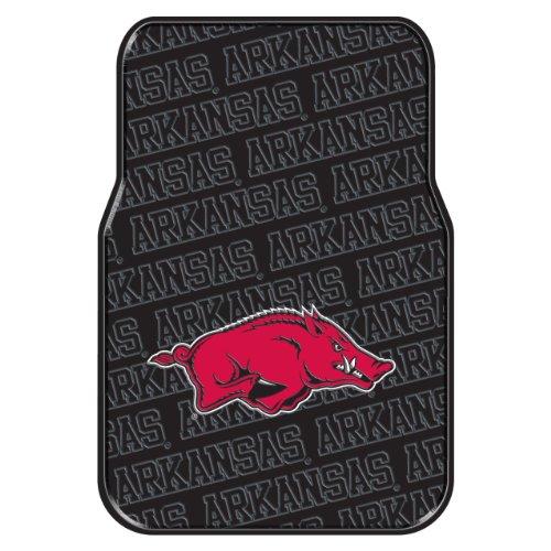 The Northwest Company Officially Licensed NCAA Arkansas Razorbacks Auto Front Floor Mat, 2-Pack ()