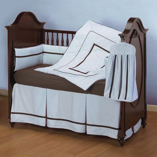 ベビードール寝具ホテルスタイルベビーベッド寝具セット、ブルー   B004HKK5W2, ITOYA STYLE:2866036d --- ijpba.info