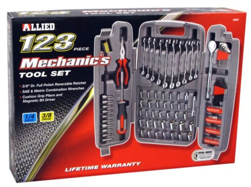 Allied Tools 49051 123-Piece Mechanics Tool Set