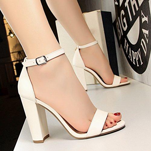 white Miyoopark Sandali ds0509 Donna Bianco 35 Eu Miyooparkuk 1 YY1wPqg