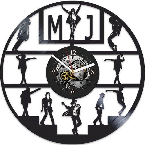 (Michael Jackson, Michael Jackson Gift For Man, Wall Clock Vintage Michael Jackson New Year Gift, Michael Jackson Vinyl Wall Clock, Jackson Xmas Gift, Wall Clock Large, Michael Jackson Gift For Man)