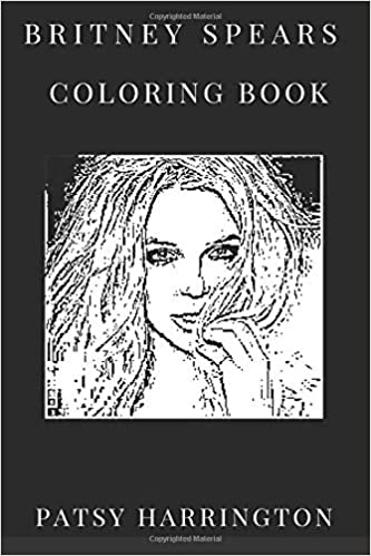 Britney Spears Coloring Book Teen Pop Star And Teenage Talent Of