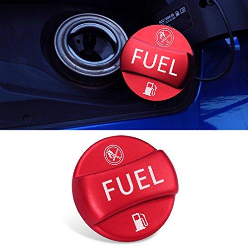 Bmw Gas Tank - For BMW Fuel Cap Cover,Jaronx Aluminum Metal Gas Tank Fuel Filler Cap Cover-NOT Full Assembly (Fits: BMW 1 2 3 4 5 6 7 X1 X3 X4 X5 X6 Z series) (Sports Red)