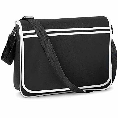 Base RETRO BG71 Bag noir Sac bandoulière mixte coloris MESSENGER qztwCdxw